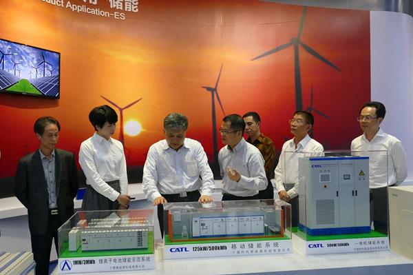 考察宁德新能源科技有限公司